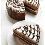 Диетический блинный торт-суфле