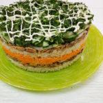 Диетический фруктовый торт-суфле без яиц и молока