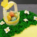Лимонно-ягодные кексы без молока и яиц