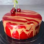 Шоколадные пирожные шу   Заварные пирожные с шоколадным и клубничным крем-чизом