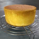 Творожный пирог с яблоками на хрустящем тесте